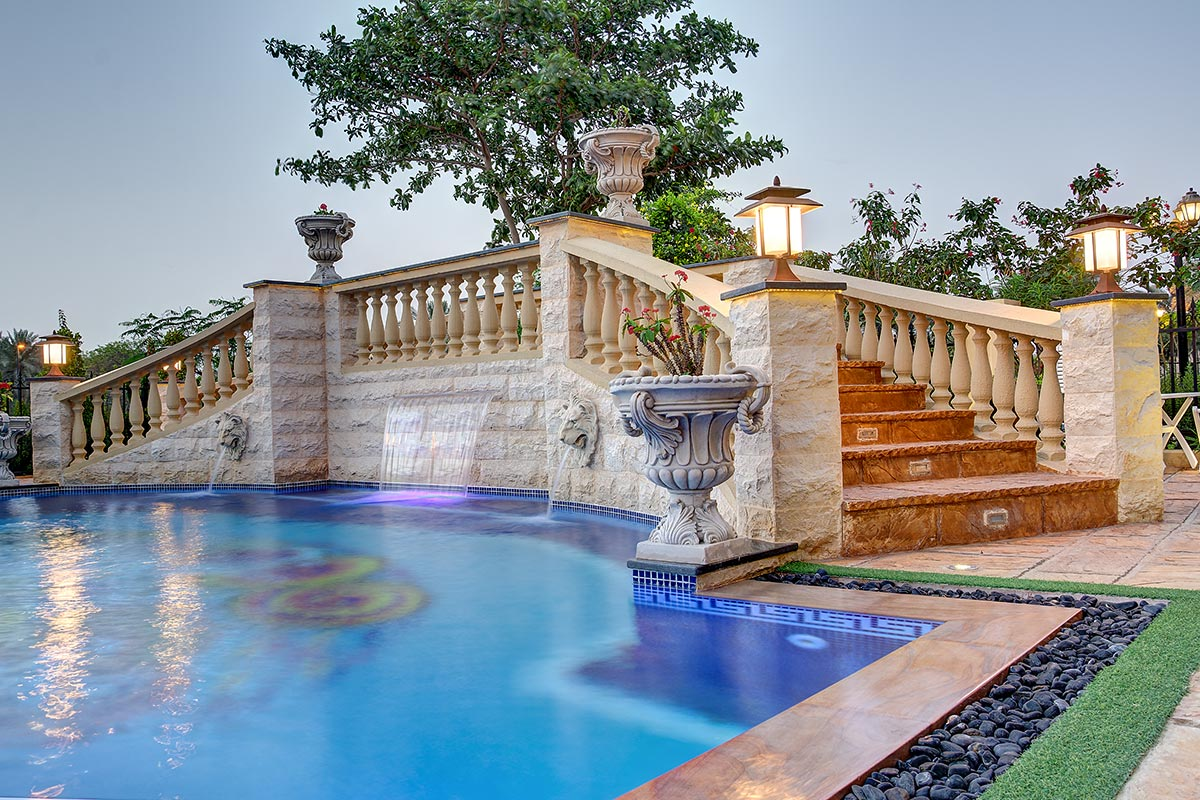 Welcome to pools r us dubai swimming pool in dubai for Pool design dubai